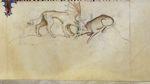 Grotesque and horse