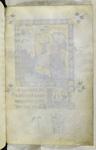 Blank folio f.233, miniature on verso.