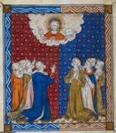 Kneeling before Christ