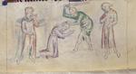 Paul being beheaded