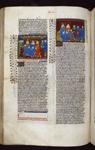 Kings of England, Scotland, and Ireland receiving Ponthus