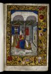Luke painting the Virgin