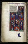 Crucifixion, Virgin and Martin