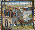 Arrival of Rollo in Normandy