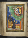 Monks signalling Cuthbert's death