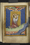 Cuthbert praying