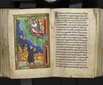 Monks signalling Cuthbert's death