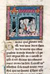Sir Galahad, Percivale and Bors killing hostile knights