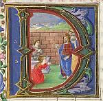 Christ raising Lazarus