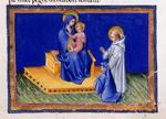Virgin and Child and Bernard