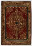 Upper cover of the binding