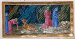 Virgil, Dante, and Cerberus