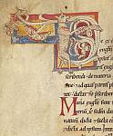 Detail: Zoomorphic initial
