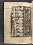 Miniature of the Virgin and Child at the beginning of the ...