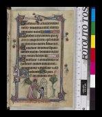 The angel Michael and Longinus