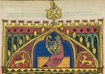 King David playing the harp