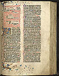 Initial, border and bas-de-page