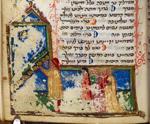 Lighting of the Hanukah lamp
