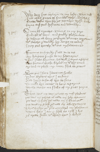 Five Middle English poems