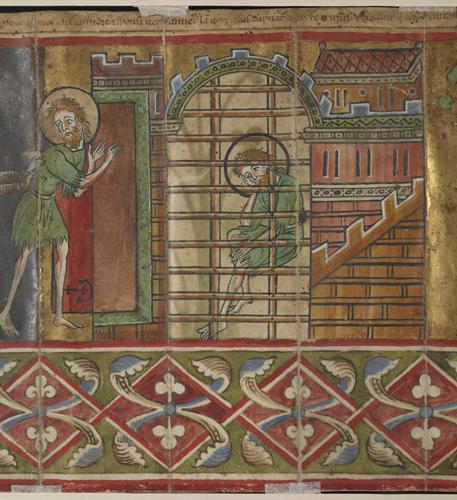 John the Baptist in prison