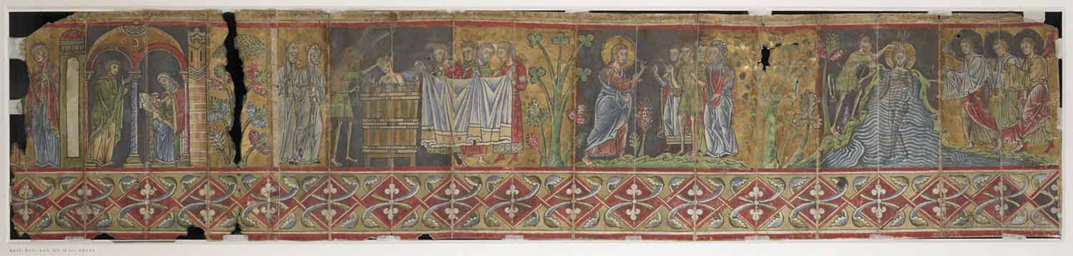 The life of John the Baptist, scenes 1-5