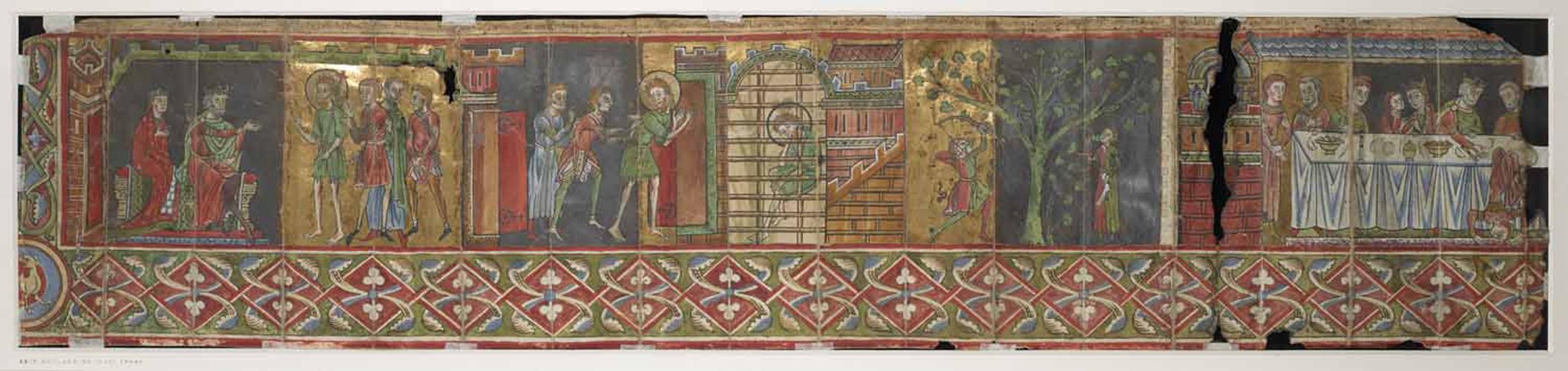 The life of John the Baptist, scenes 6-9