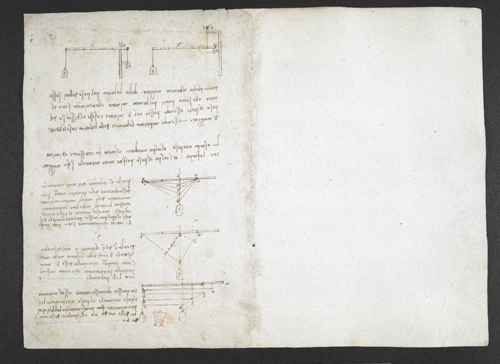 f. 1v, displayed as an open bifolium with f. 14: diagrams