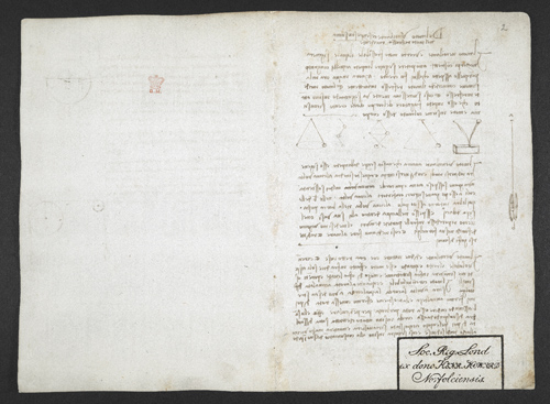 f. 2, displayed as an open bifolium with f. 13v: diagrams