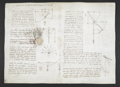 f. 3v, displayed as an open bifolium with f. 2: notes and diagrams