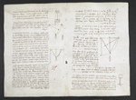 f. 4v, displayed as an open bifolium with f. 11: notes and diagrams