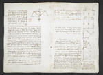 f. 5, displayed as an open bifolium with f. 10v: notes and diagrams