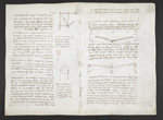 f. 11v, displayed as an open bifolium with f. 4: diagrams