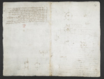 f. 34, displayed as an open bifolium with f. 35v: blank page