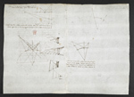 f. 61, displayed as an open bifolium with f. 62v: diagrams