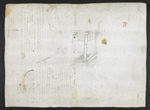 f. 74v, displayed as an open bifolium with f. 77: blank page