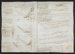 f. 100, displayed as an open bifolium with f. 101*v: diagrams