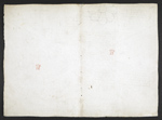f. 112v, displayed as an open bifolium with f. 115: blank page