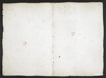 f. 115, displayed as an open bifolium with f. 112v: blank page