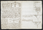 f. 116v, displayed as an open bifolium with f. 119: diagrams
