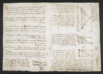 f. 124, displayed as an open bifolium with f. 123v: diagrams