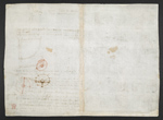 f. 150, displayed as an open bifolium with f. 146v: blank page