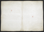 f. 161v, displayed as an open bifolium with f. 168: blank page