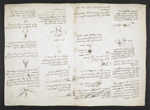 f. 171, displayed as an open bifolium with f. 170v: diagrams