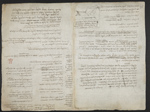 f. 176v, displayed as an open bifolium with f. 173: text page