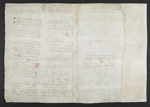 f. 184, displayed as an open bifolium with f. 181v: blank page