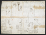 f. 190, displayed as an open bifolium with f. 191v: diagrams