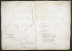 f. 196, displayed as an open bifolium with f. 199v: diagrams