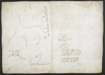 f. 199v, displayed as an open bifolium with f. 196: diagrams