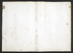 f. 254v, displayed as an open bifolium with f. 255: blank page