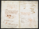 f. 271, displayed as an open bifolium with f. 278v: notes and sketches